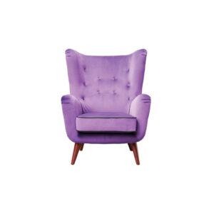 Oor fauteuil Oslo paars