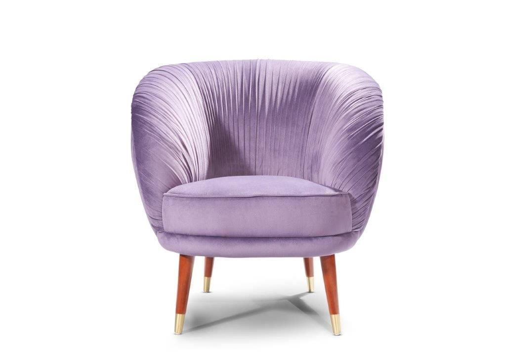Jan Frantzen paarse stoel