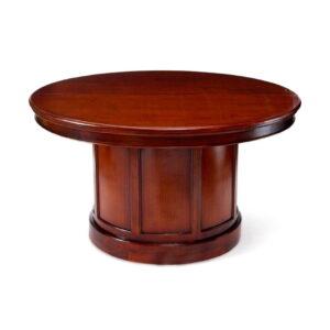 bruine houten tafel