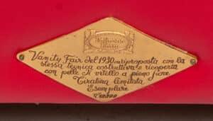 Poltrona Frau Vanity Fair Refurbished Verkocht!