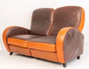 Formenti Art Deco sofa Refurbished