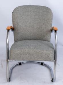 Paul Schuitema easy chair voor D3- Fana metaal