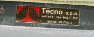 P40 Lounge Chair 1ste Editie van Osvaldo Borsani voor Tecno, 1950s