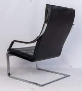 Art Collection voor Walter Knoll Design Fauteuil met Hocker Verkocht!