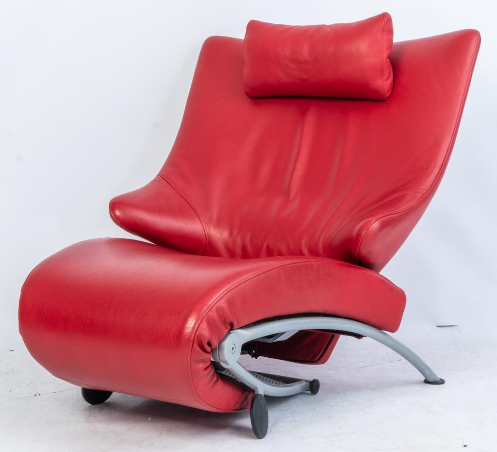Relax stoel WK Möbel Solo 699, ontwerp Stephan Heiliger