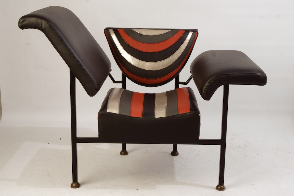 Rob Eckhardt, Groeten uit Holland, fauteuil refurbished Verkocht!
