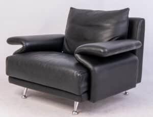 Twee Formenti fauteuils Showroommodellen